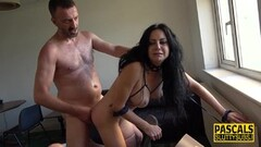 Kinky Ass Lick Pussy Fucked Stepdaughter With Uncle Thumb