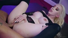 Naughty cheerleaders give handjob Thumb