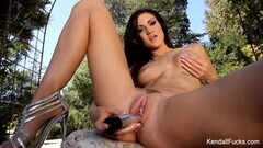 Mandy cinn and amica bentley in hot british lesbian fisting in hd Thumb