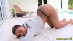 Busty blonde cheerleader rammed hard by horny teacher in classroom Thumb