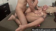 Nikita checks uncle jesses load by sucking his old big cock Thumb