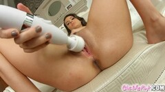 Lazy nurse gets punished in the gyno chair Thumb