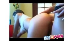Ebony cheerleaders saves self by sucking cock Thumb