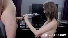 Cute MILF Sofie Marie Takes Cock After Pussy Play With Dildo Thumb