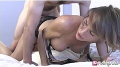 Naughty Busty Short Haired UK Sub Fucked Hard Thumb