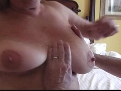 Natural Big Tits Mature Martiddds Selfsucks Nipples Thumb
