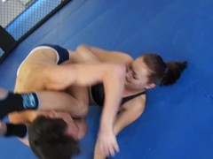 IVA VS VIKTOR PEGGING WRESTLING Thumb