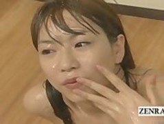 Subtitled ENF CMNF crazy Japanese cum spattered teacher Thumb
