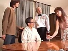 Hairy Japanese Anal Cream Pie Threesome asian cumshots asian swallow japanese chinese Thumb