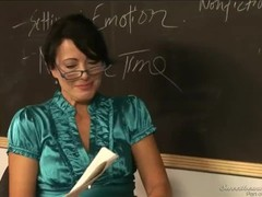 Two Lesbian Milf Teachers Making Love In Calssroom Thumb