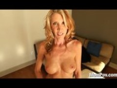 Horny MILF fucks and swallows Thumb