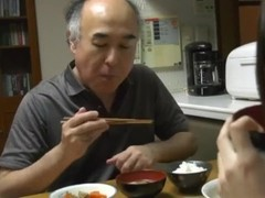 Lucky grandpa fucks Japanese teen Thumb