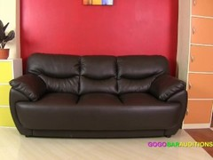 Asian girl on casting couch Thumb
