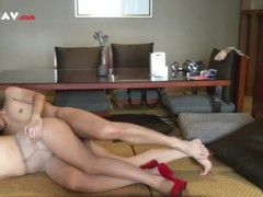red shoes pussy fucked hard by BF Thumb