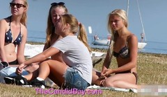 Young Teens Beach Voyeur Big Tits (Real Voyeur) Thumb