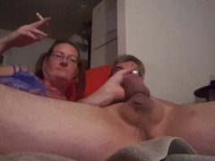 Smoking, sucking, and riding Daddys big cock Thumb