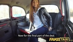 Fake Taxi Voyeur catches sexy couple fucking Thumb