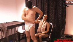 german bdsm domina and her slave get punishment Thumb