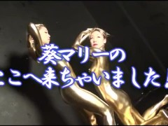 Making of Gold Paint Photoshoot Part 2 Thumb