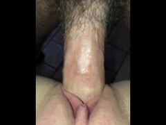Tight pussy cumming on big dick  MissDanielleHuff Thumb