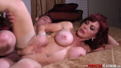 PORNSTARPLATINUM Hot Mom Fucks Young Stud Thumb