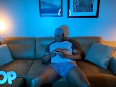 Horny Busty Pink Haired Teen Snowbunny Freezes Time To Suck And Fuck Gamer Boyfriend BBC Thumb